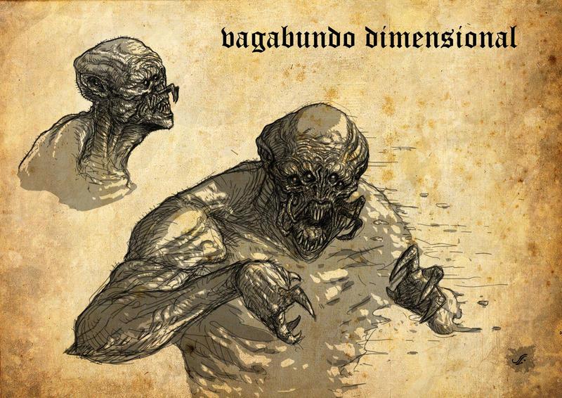 Vagabundo dimensional/Dimensional shambler by Jagoba