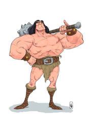 Korgoth the big-man by Jagoba