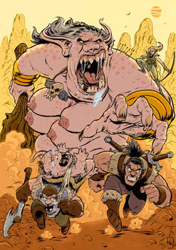 The ogre and the rogues