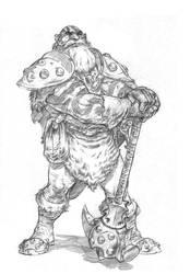 Melock the warrior