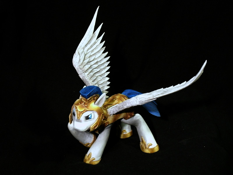 Celestia's Royal Pegasus Guard - Final single shot by frozenpyro71