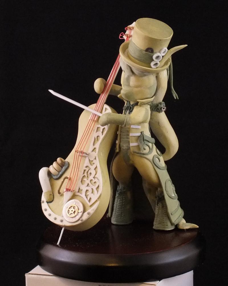 Steampunk Octavia - Final Sculpt by frozenpyro71