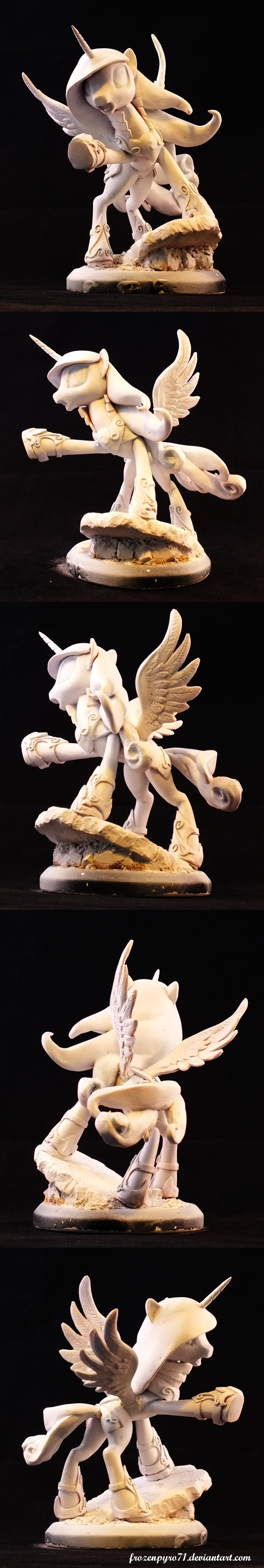 Princess Cadence - Final sculpt spin by frozenpyro71