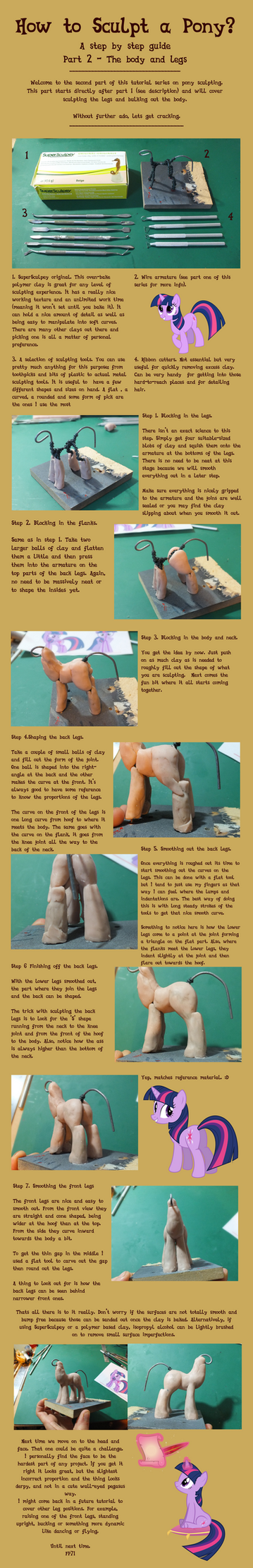 Tutorial series part 2: Legs and body. by frozenpyro71