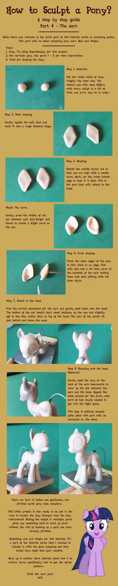 Tutorial series part 4: The ears.
