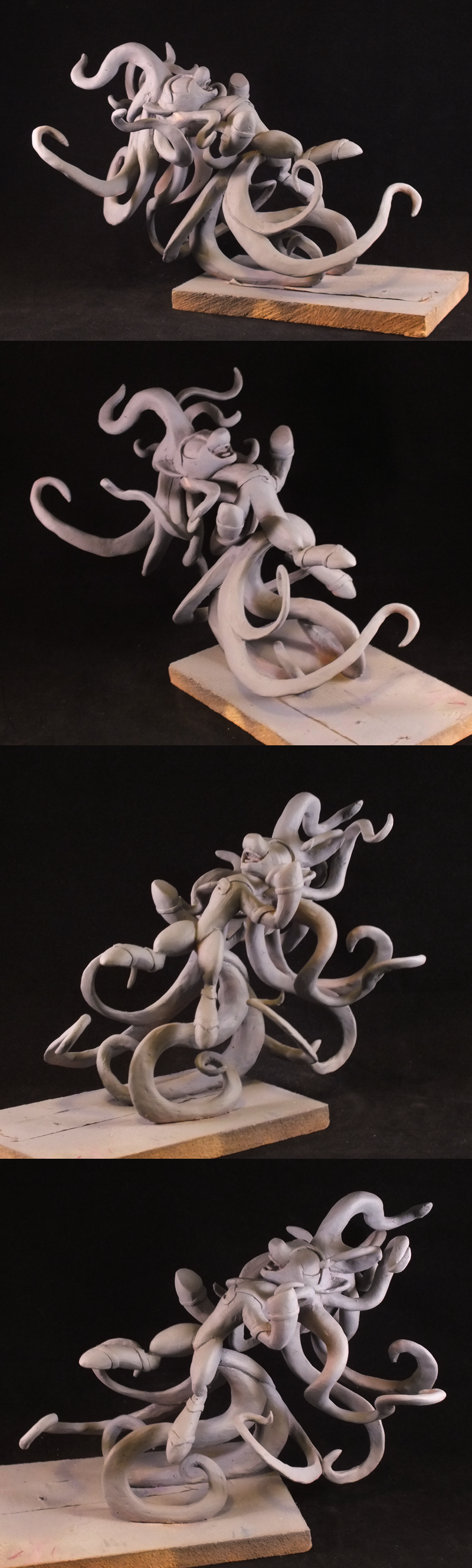 Maneiac - Final Sculpt Spin by frozenpyro71