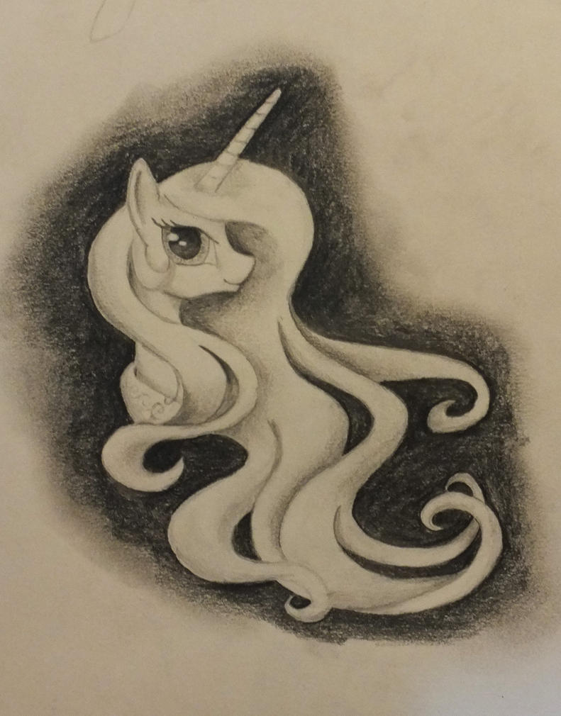 Celestia sketch by frozenpyro71