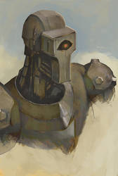 The robot king