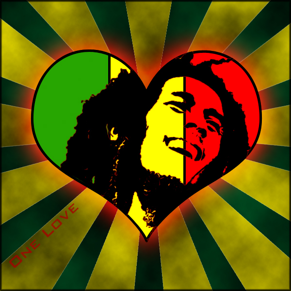 One Love Bob Marley By Maatirunaway On Deviantart