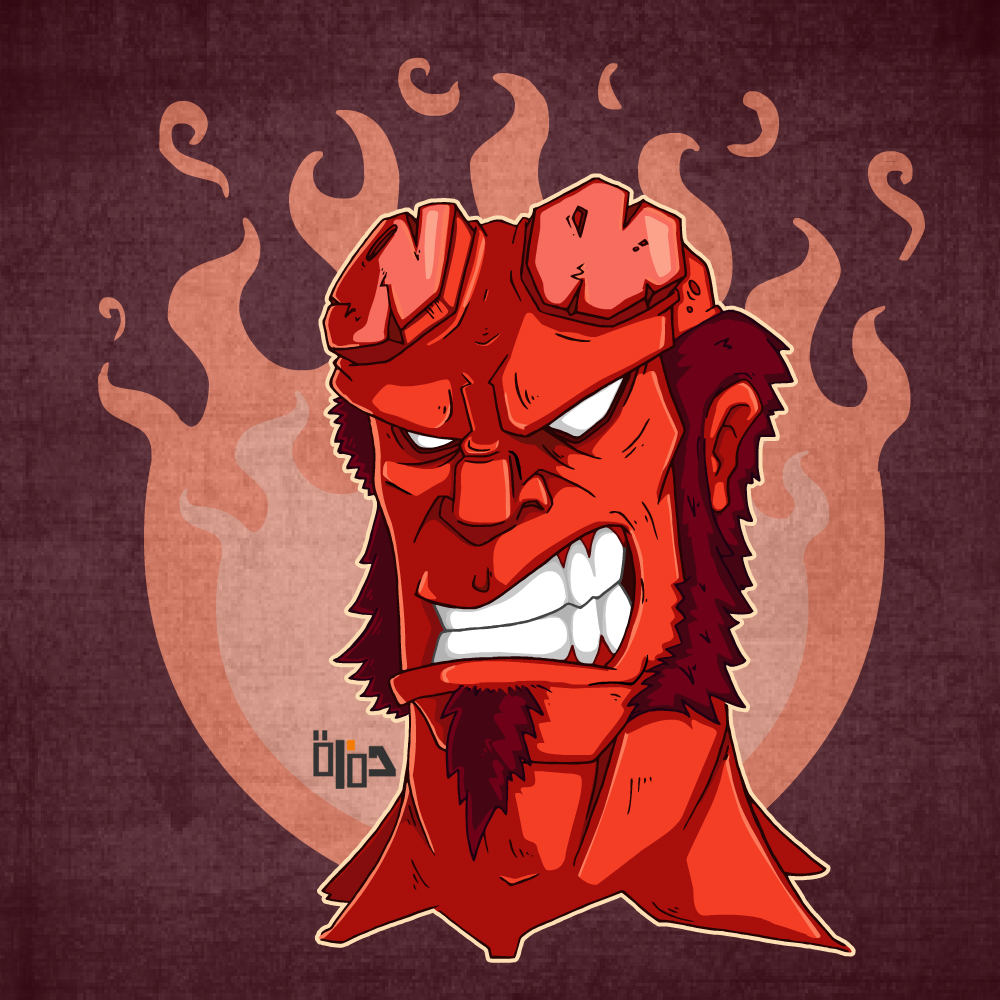 Hellboy Color 2 by Hamzeh-Kalimat
