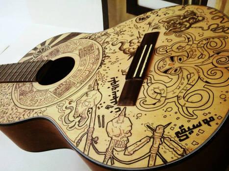 my guitar wip !!!