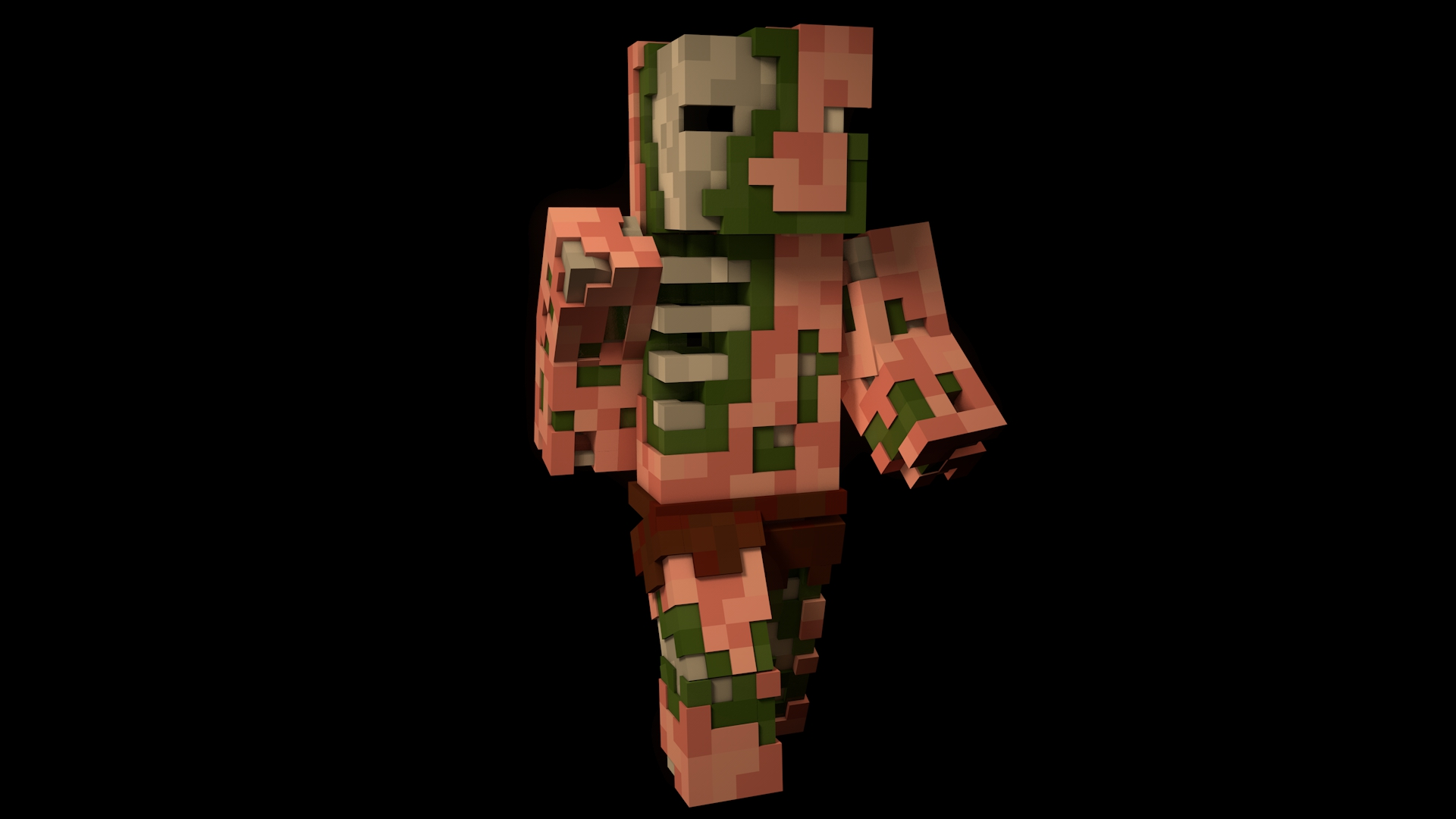 cool wallpapers of minecraft zombies - photo #18