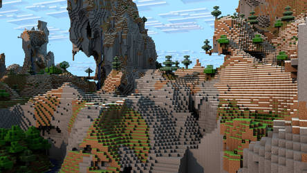 Minecraft Render (Re-done)