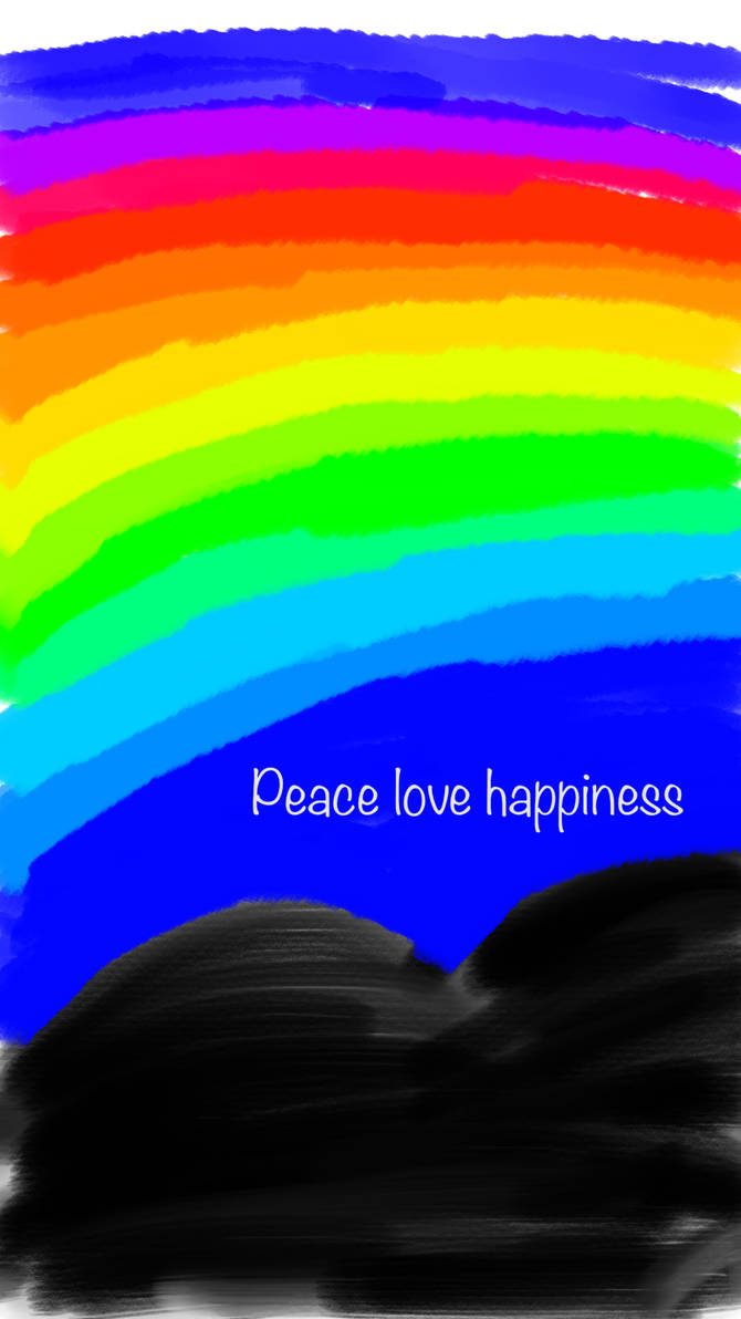 Peace love happiness  by ashamwhite97