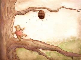 Pooh Bear by kylebice