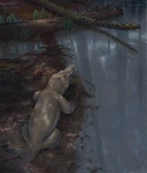 Viatkosuchus sumini Upper Permian of Kotelnich by MaximSinitsa
