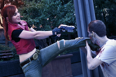 Kill Or Be Killed | Claire Redfield Cosplay by HopeHavoc