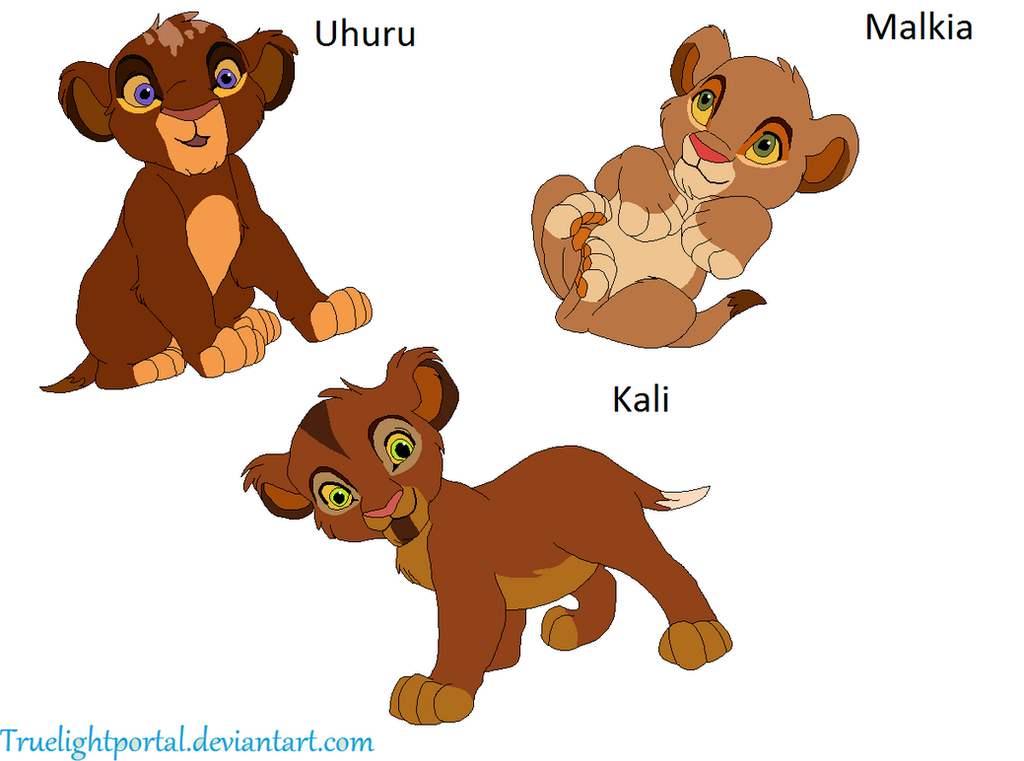 Kopa's and Vitani's cubs by FurryICO on DeviantArt