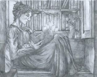The Reader by Styxxsardonyx