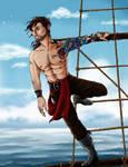 Pirate Pinup (2014 April Fanservice Day) by Styxxsardonyx