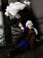 Raj and Cece by Styxxsardonyx