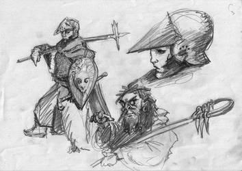 Doodles 1 by Conlai