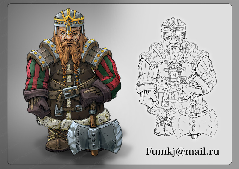 Dwarf by Fumkj
