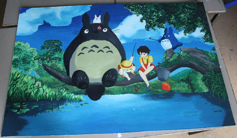 My Neighbor Totoro by shoop-da-rainbow