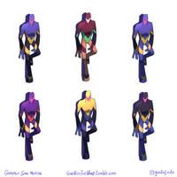 Non-Robots Colour Madness