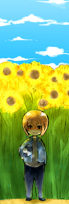 sunflowers by KL-chan
