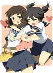 schoolgirl DM+BRS