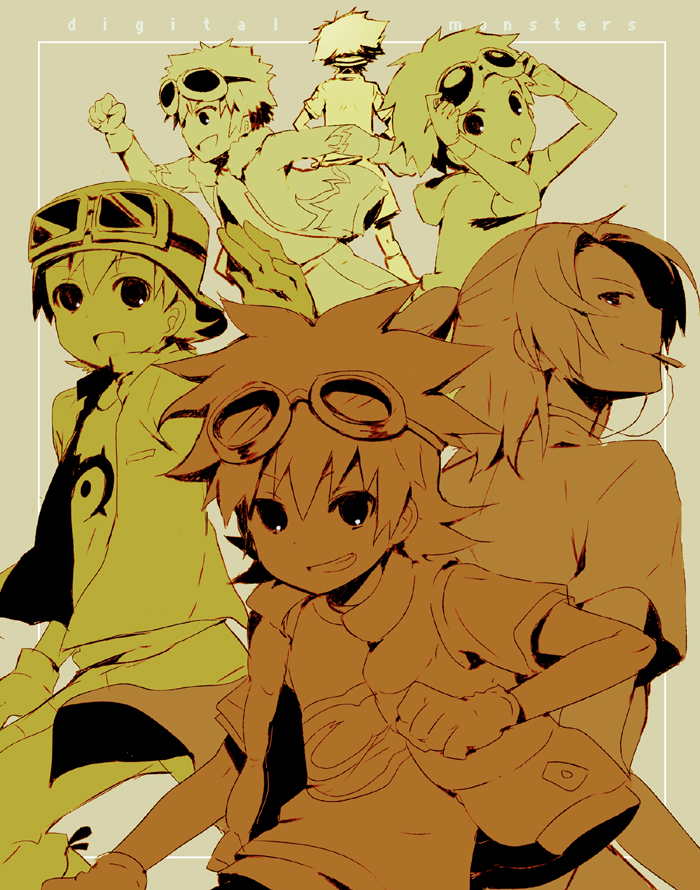 happy 11th anniversary digimon by KL-chan