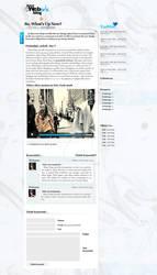 My blog design