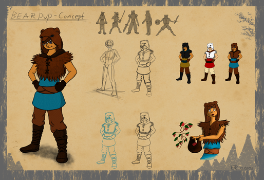 Boy of the Beartribe concept