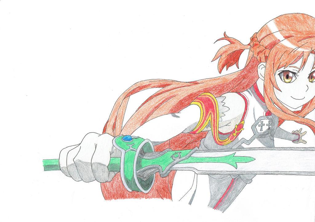 Asuna by hero2b