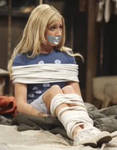 Ashley Tisdale Tied Up Tape Gagged 3