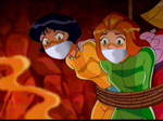 Totally Spies Sam and Alex Bound and Gagged