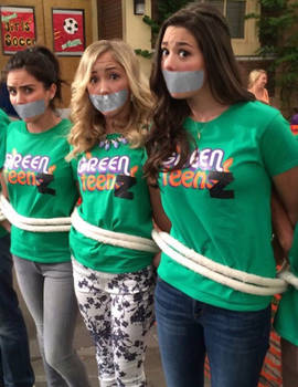 The Thundermans Girls Bound and Gagged