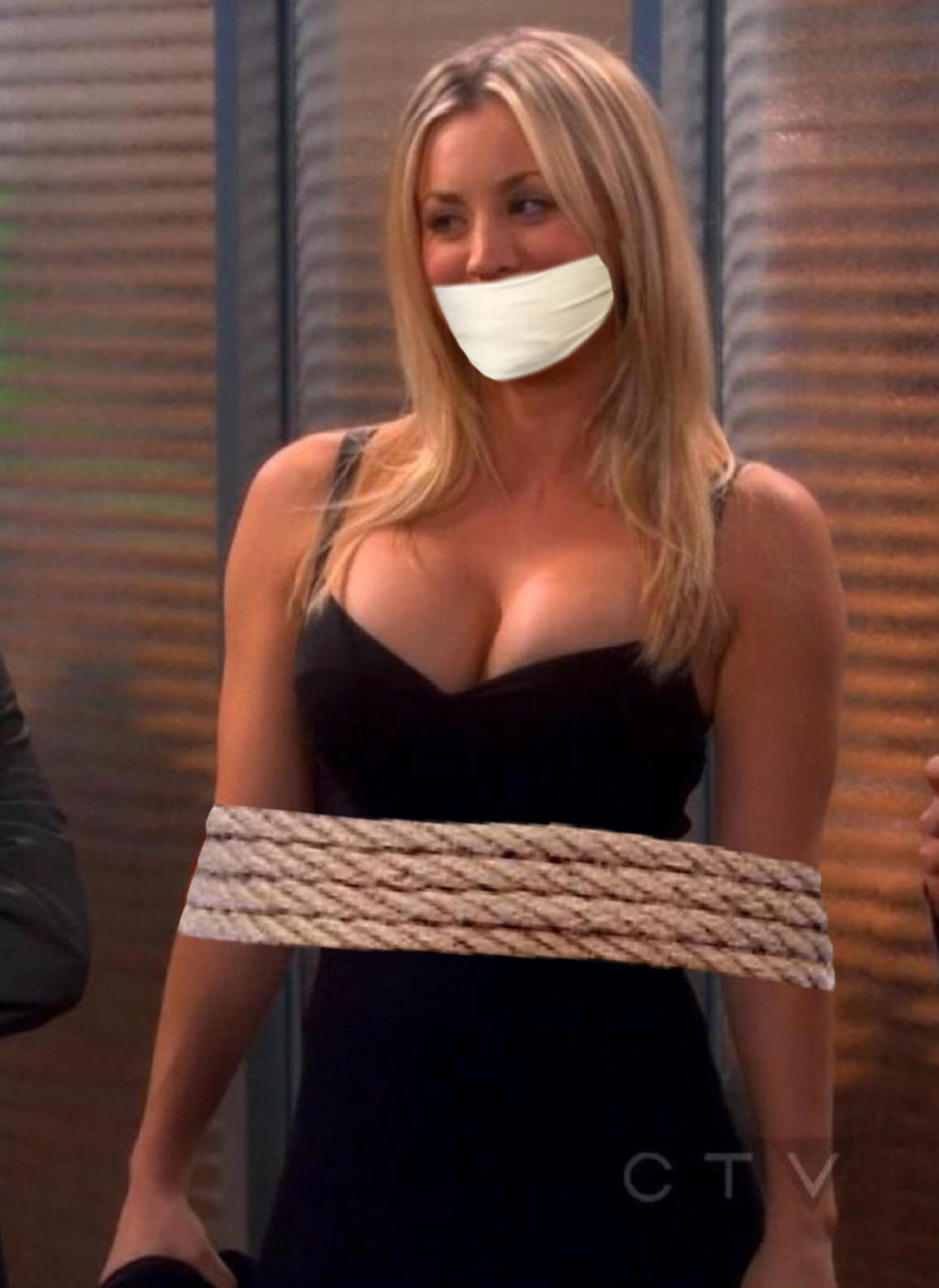 Tied up damsels gagged fucked girls tits real bondage sex.