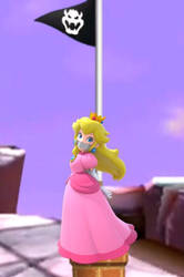 Princess Peach Rope Tied Tape Gagged by Goldy0123