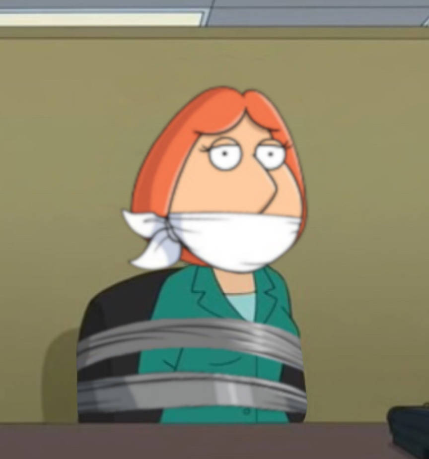Lois griffin gagged — photo 9