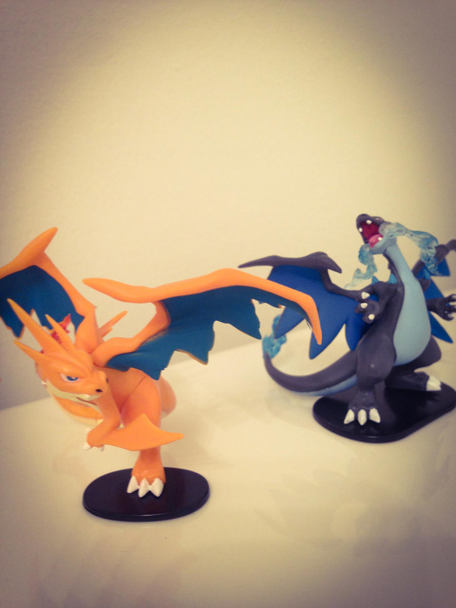 Mega Charizard Collection Box Figures By An Insane One