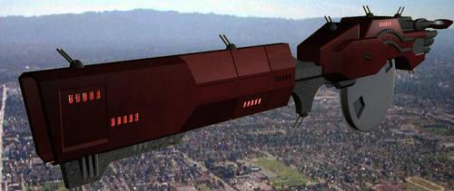 Soviet Gunship - RG Concept 2 by ToddMcCloud
