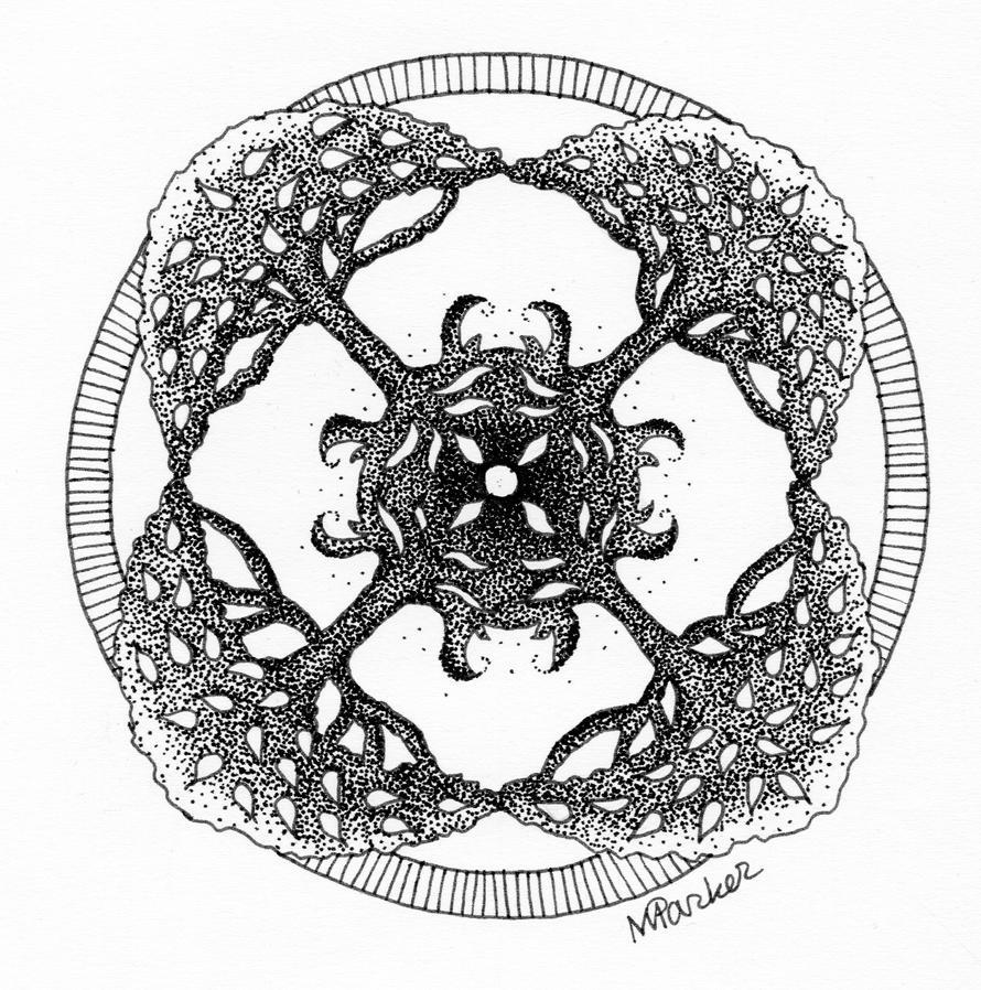 Good Tree Mandala Tattoo By PencilsAndInk ...