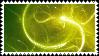 Green Swirls Stamp - F2U by TheStarsRedemption