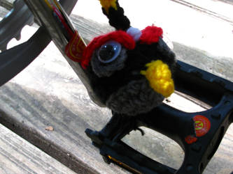 Angry Birds - Black Amigurumi by Lady-Nocturna