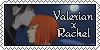 ValerianxRachel stamp by Havley