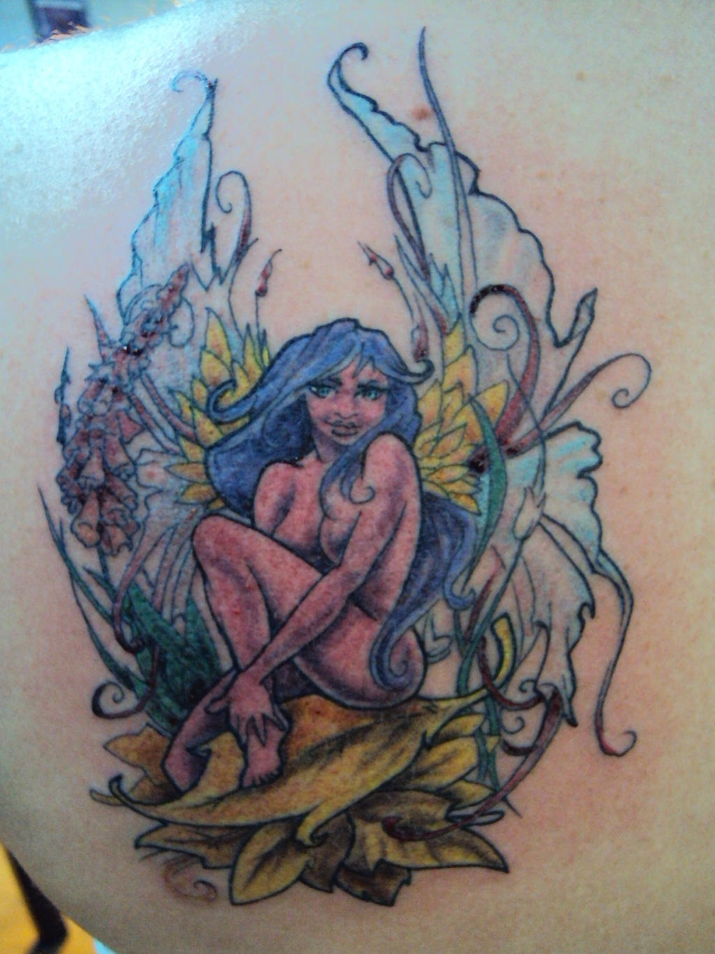Naked fairy tattoos nude scene