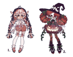 pumpkin witches / closed