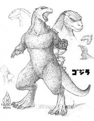 Godzilla Redesign by JamesRod71